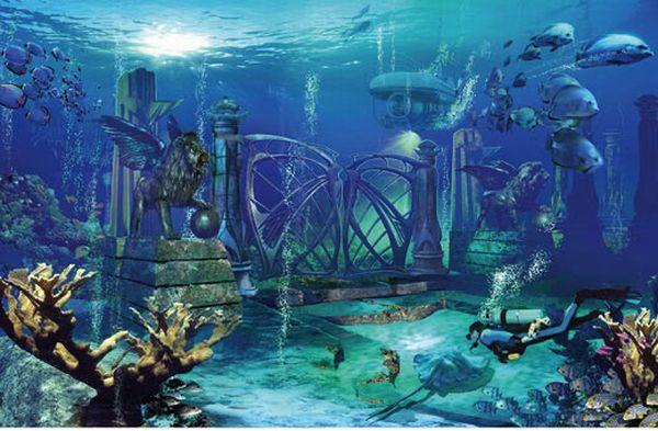 Real Underwater City ATLANTIS & LUCI...
