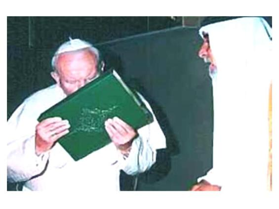 POPE-KISSING-KORAN