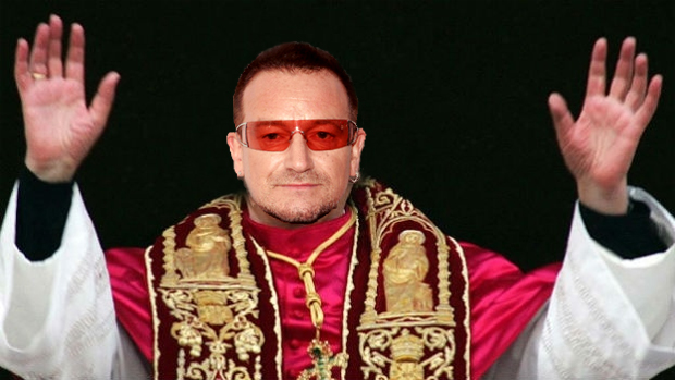Bono antichrist Pope